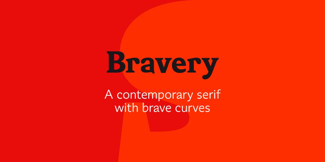 Bravery Serif Hubert Jocham Type